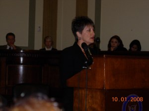 Diane Addison at U.S. Senate briefing on preK