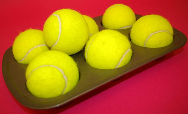 Tennis ball puzzler (1/4)