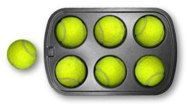 Tennis ball puzzler (3/4)